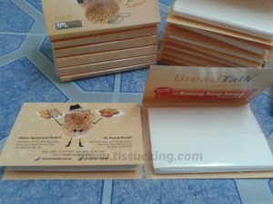 Cardboard tissue pack